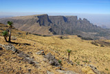 Imet Gogo from Mount Bwahit, Simien Mountains National Park