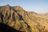 The road from Debark to Axum crosses part of the Simien Mountains National Park