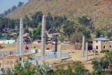 Obelisks of the northern stelae field, Axum