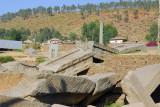 Ruins of the toppled Great Stele, 33m, Axum
