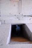 Stairway descending ito the Tomb of the False Door, Axum