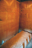 The tomb of the false door was pillaged during antiquity