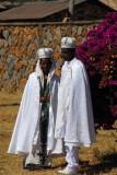 Ethiopian bridge and groom