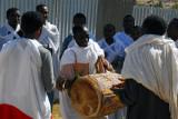 Music at an Ethiopian wedding