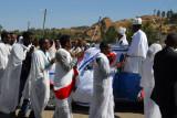 Circling the wedding car, Axum