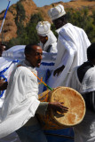 Drummer at the wedding, Axum