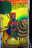 St. Samuel riding the Lion