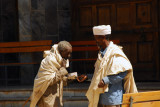 Priest giving a blessing, St. Mary of Zion, Axum
