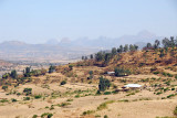 Rugged mountains northeast of Axum