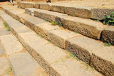 Stairs leading to the 6th Century tombs of 2 Axumite kings