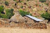 Farmhouse near the granite quarry west of Axum