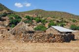 Farmhouse near the Axum granite quarry