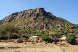 Granite quarry 3 km west of Axum