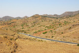 The road to Lalibela