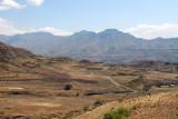 Rugged scenery near Lalibela
