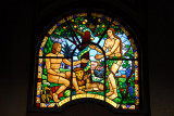 Holy Trinity Cathedral, Addis Ababa stained glass - The Garden of Eden