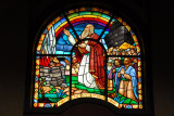 Holy Trinity Cathedral, Addis Ababa stained glass - Noah