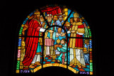 Holy Trinity Cathedral, Addis Ababa stained glass - King Solomon and Queen of Sheba