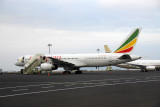 Ethiopian Airlines Boeing 757 (ET-AMK) Addis Ababa Bole Int'l