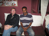 Me and Haile, the Bahir Dar local guide