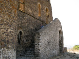 Outer staircase, Guzara Castle