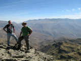 Me and Keith with the Ras Dashen Escarpment