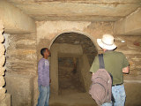In the mausoleum near the Great Stele