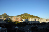 Early morning, Signal Hill from Southern Sun Waterfront Hotel
