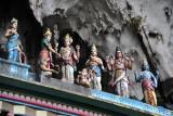 Upper gate to the main cave, Batu Caves