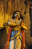 Hindu statue, Batu Caves