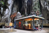 Temple in the grotto at the back of Batu Caves