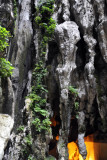 Stalctites and pillars, Batu Caves