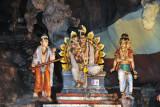 Hindu statues, Batu Caves