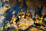 Illuminated statues, Batu Caves