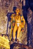 Figure in Batu Caves