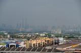 Kuala Lumpur in the distance