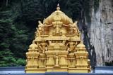 Hindu Temple at the base of Batu Caves