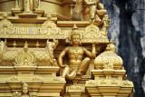 Temple detail, Batu Caves temple complex