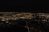 Night aerial of Toronto, Ontario