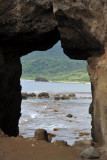 View through the Mountain with a Hole