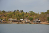 Small village on the west end of Uson Island