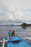 Smooth sailing across Coron Bay to Culion