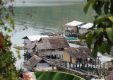 Stilt village on the southern waterfront of Culion Town