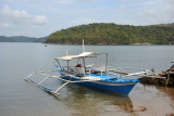 The banca boat we took from Coron to Culion