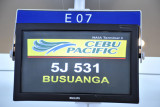 Our first attempt to get to Busuanga on Cebu Pacificc