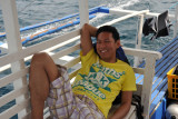 It's around 90 minutes by boat from Coron Town to the major wrecks around Tangat and Lusong Islands