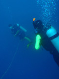 Following the guide down to 32m