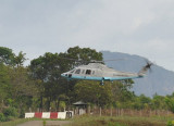 Philippine Air Force Sikorski S76 helicopter, El Nido