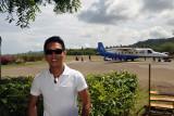 Dennis at El Nido Airport