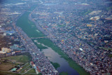 The Floodway with Javier Bridge, SE Manila, Philippines